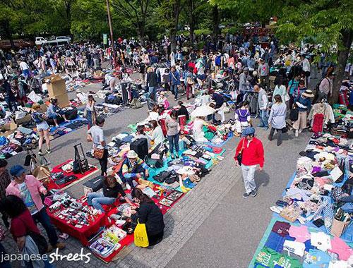 Du học SVIC - Chợ đồ cũ tại Nhật