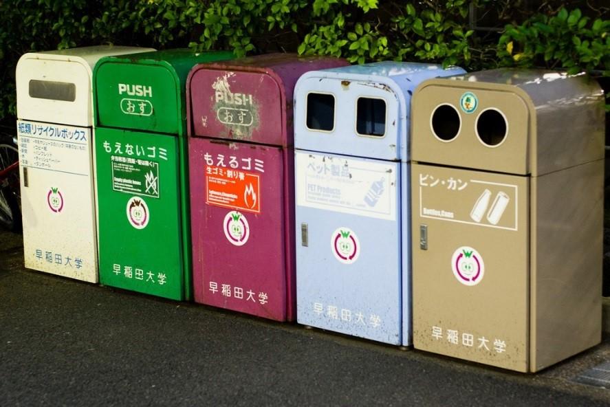 Du học SVIC - Văn hóa ứng xử tại Nhật -rác thải
